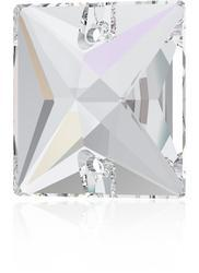 Swarovski SQUARE 3240 - 16mm  Crystal AB