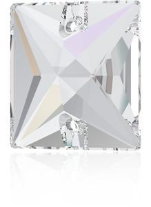 Swarovski SQUARE 3240 - 16mm  Crystal AB - 1
