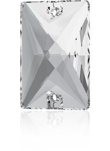 Swarovski RECTANGLE 3250 - 18x13mm  Crystal - 1