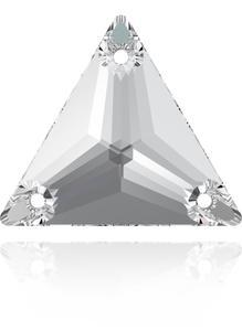 Swarovski TRIANGLE 3270 - 16mm  Crystal - 1