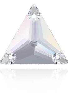 Swarovski TRIANGLE 3270 - 16mm  Crystal AB - 1