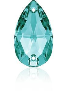 Swarovski DROP 3230 - 12x7mm  Blue Zircon - 1