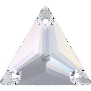 Swarovski TRIANGLE 3270 - 22mm  Crystal AB - 1