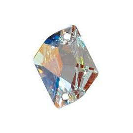 Swarovski COSMIC 3265 - 26x21mm  Crystal AB - 1
