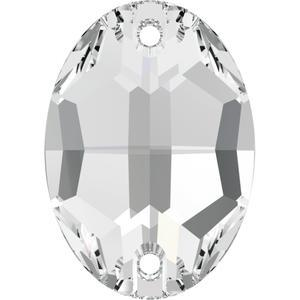 Swarovski OVAL 3210 - 24x17mm  Crystal - 1