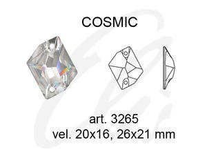 Swarovski COSMIC 3265 - 26x21mm  Crystal AB - 2