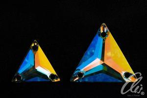 Swarovski TRIANGLE 3270 - 16mm  Crystal AB - 3